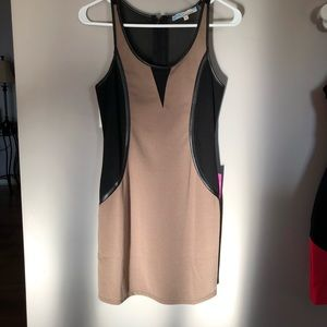 New with tags bodycon dress with mesh